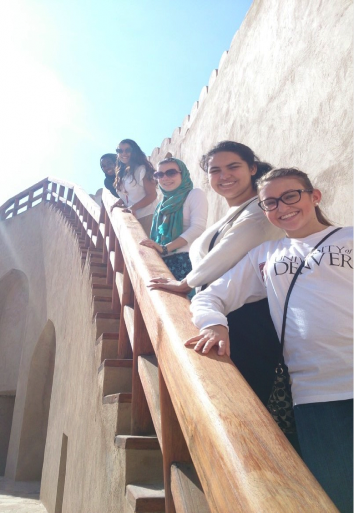 NSLI-Y students traveled to the Nizwa for with the YES Abroad Oman students to get a look at what is considered one of the main cultural and most important heritage sites in Oman. They learned how the fort was built, its purpose, and why it is so important in Omani culture and history.