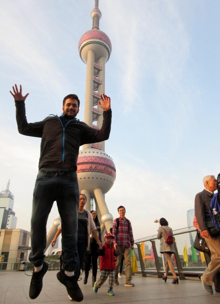Brad in Shanghai