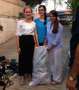 NSLI-Y students help out in Amman