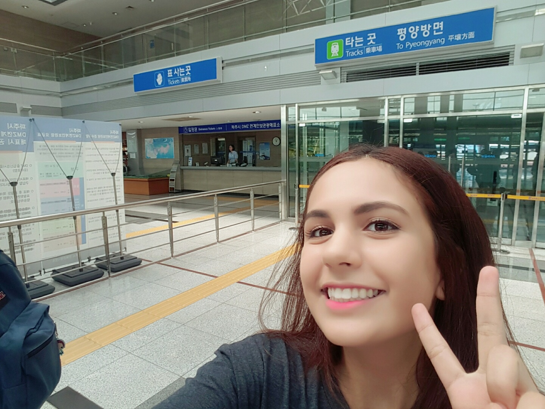 The Pyeongyang train line