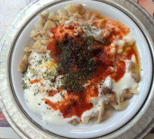 Closeup of food
