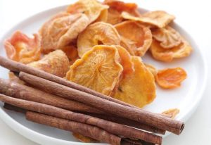 Dried persimmons.