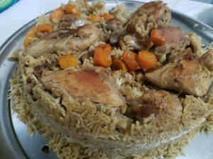 A meal in Jordan.