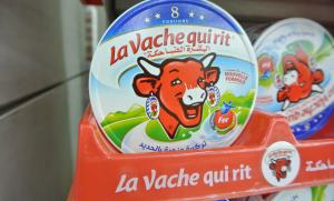 """""""La vache qui rit"""", a Moroccan cheese brand."""