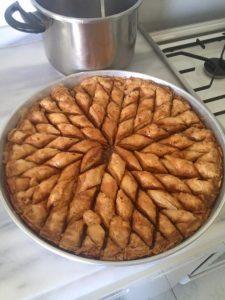 A Turkish food.