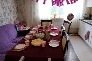 Halle's birthday celebration