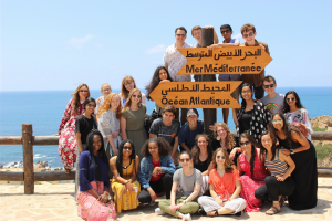 NSLI-Y group during excursion in Tangier